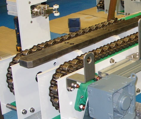Chain Driven Powered Roller conveyors at C-Trak Ltd