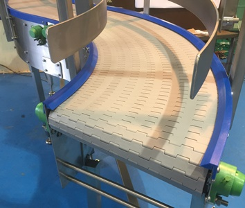 Modular Belt Bend Conveyor