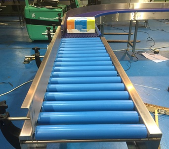 Gravity Roller Conveyors Plastic And Stainless Steel C