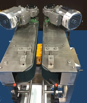 Close Transfer Conveyor With 90 Degree Devices From C Trak