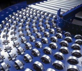 Gravity Roller Conveyors plastic and stainless steel C-Trak Ltd