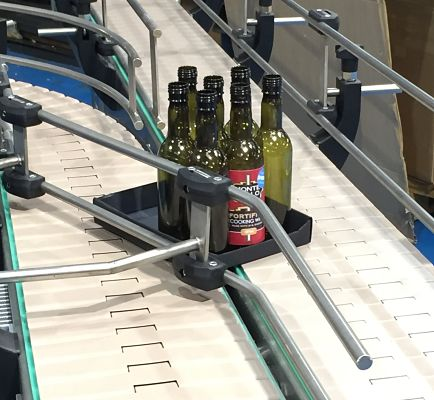 Automated 2 into 1 Merging Conveyor