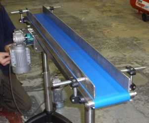 Small Mini Belt Conveyors For Light Duty Use C Trak Conveyors