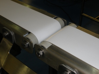 Small Mini Conveyors showing transfer