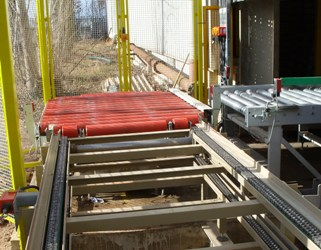 pallet conveyor systme